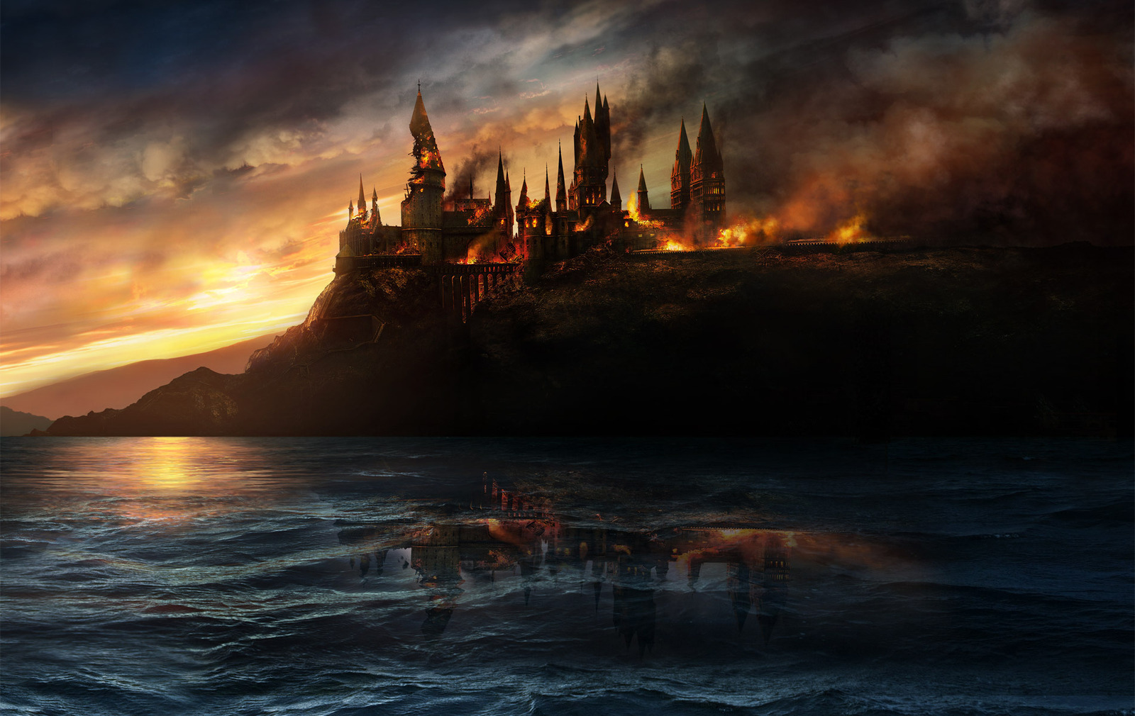 Hogwartsonfireharrypotter1391197819