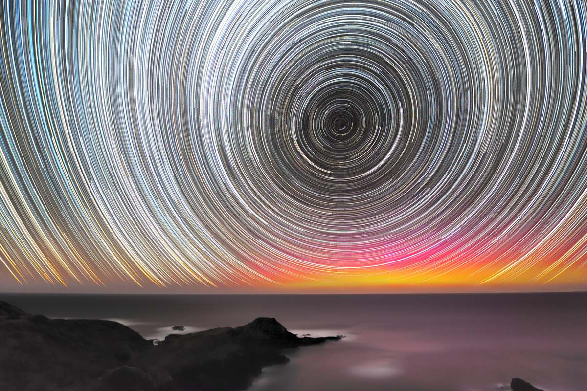 Aurora22jan2012_startrails